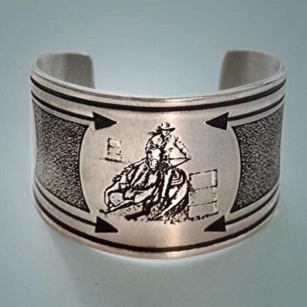 Barrel Racer Cuff Bracelet